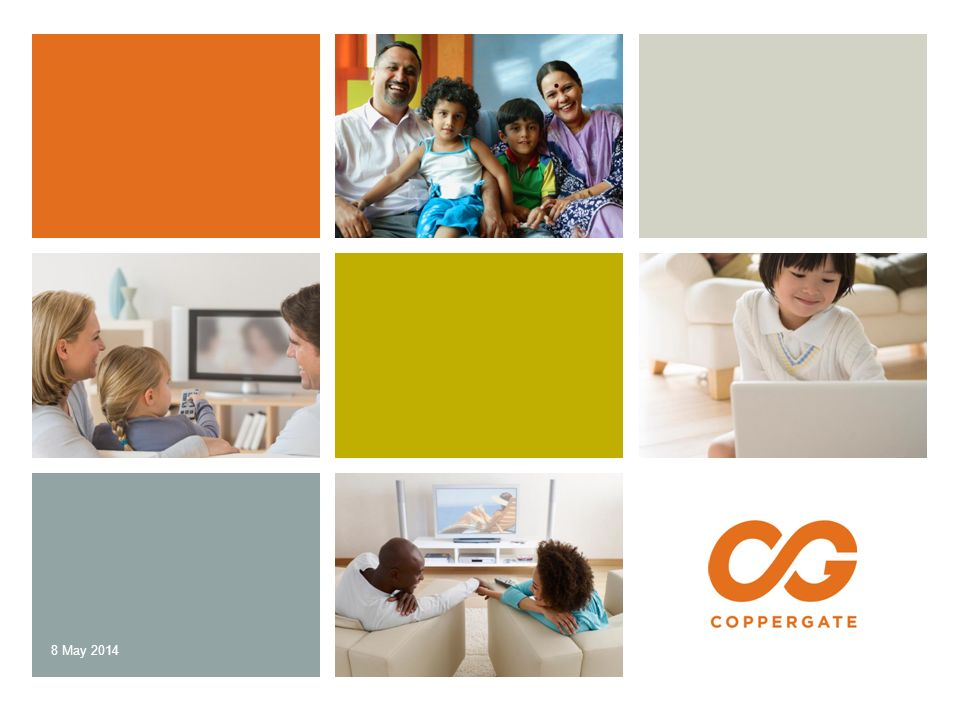 8 May 2014 CONFIDENTIAL// CopperGate Communications, Inc.