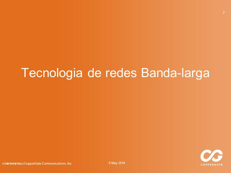 8 May 2014 CONFIDENTIAL// CopperGate Communications, Inc. 58 Informação de cada Dispositivo