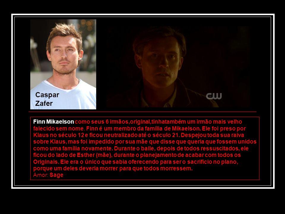 Caspar Zafer Finn Mikaelson como seus 6 irmãos,original,tinhatambém um irmão mais velho falecido sem nome. Finn é um membro da família de Mikaelson. E