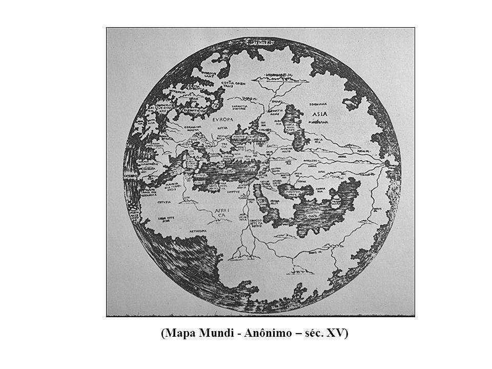 (Mapa Mundi - Anônimo – séc. XV)