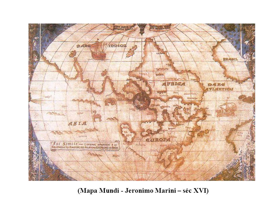 (Mapa Mundi - Jeronimo Marini – séc XVI)