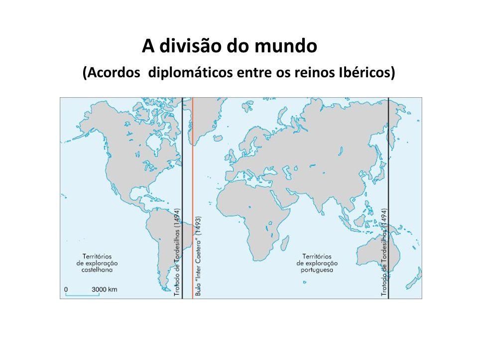 A divisão do mundo (Acordos diplomáticos entre os reinos Ibéricos)