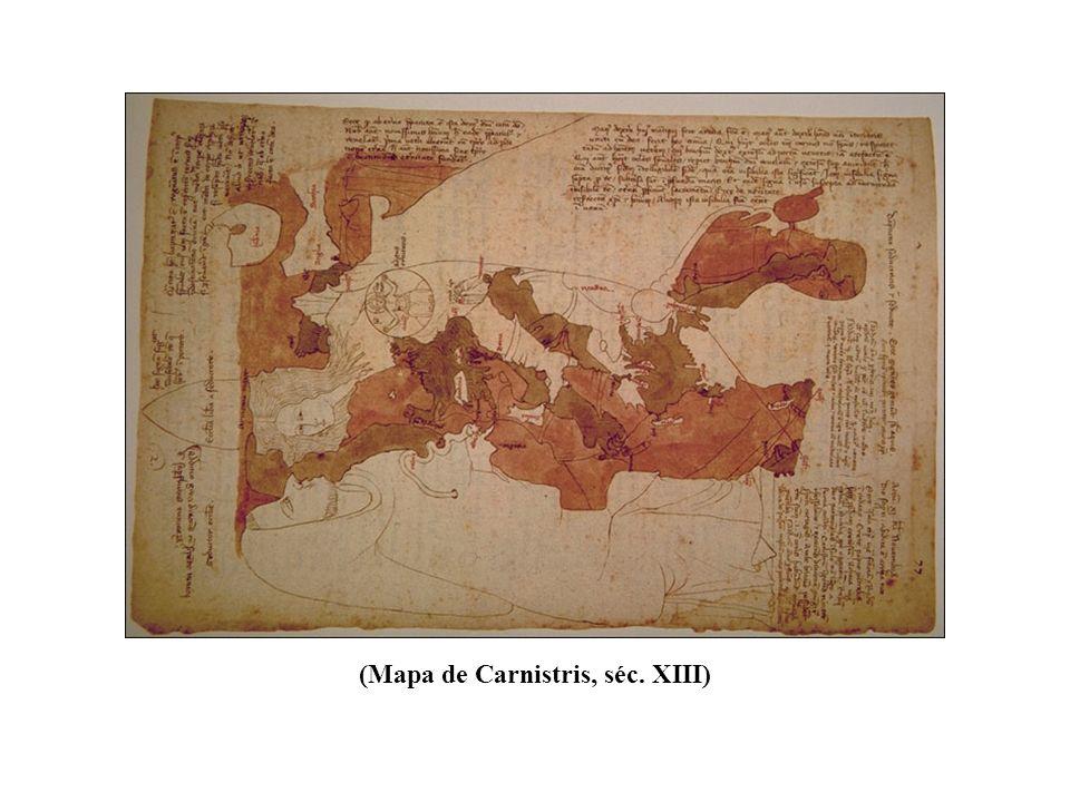 (Mapa de Carnistris, séc. XIII)