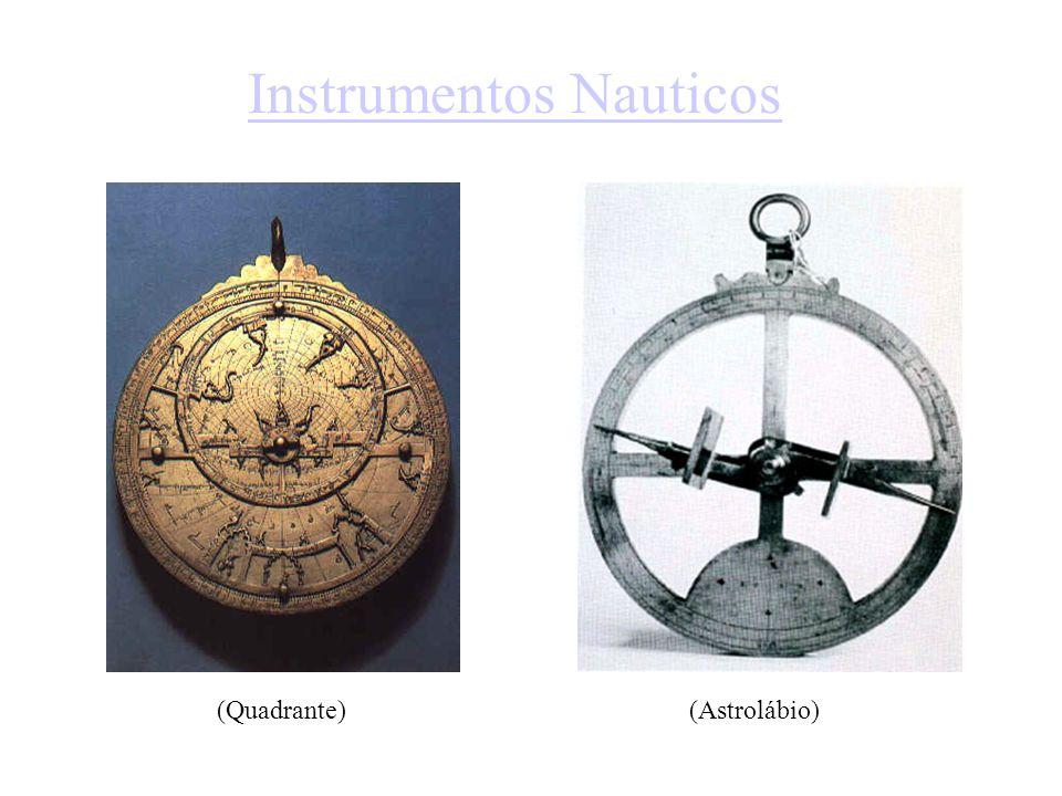 Instrumentos Nauticos (Quadrante)(Astrolábio)