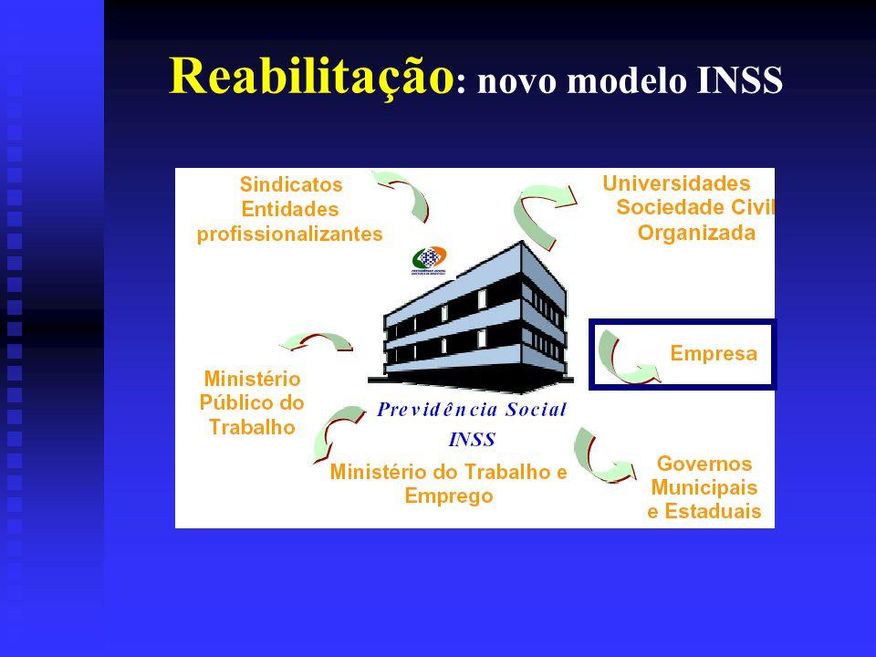 Reabilitação : novo modelo INSS