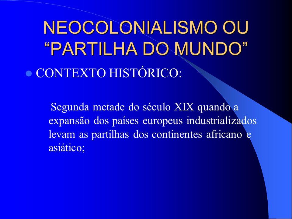 Prof. Delzymar Dias IMPERIALISMO