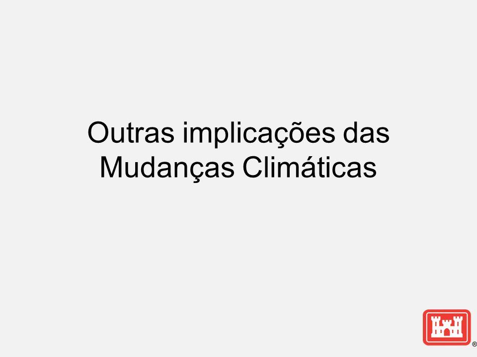 Outras implicações das Mudanças Climáticas