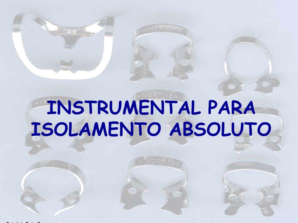 Patrícia Ruiz Spyere LEONARDO; LEONARDO, 2002 CONICIDADE DOS INSTRUMENTOS