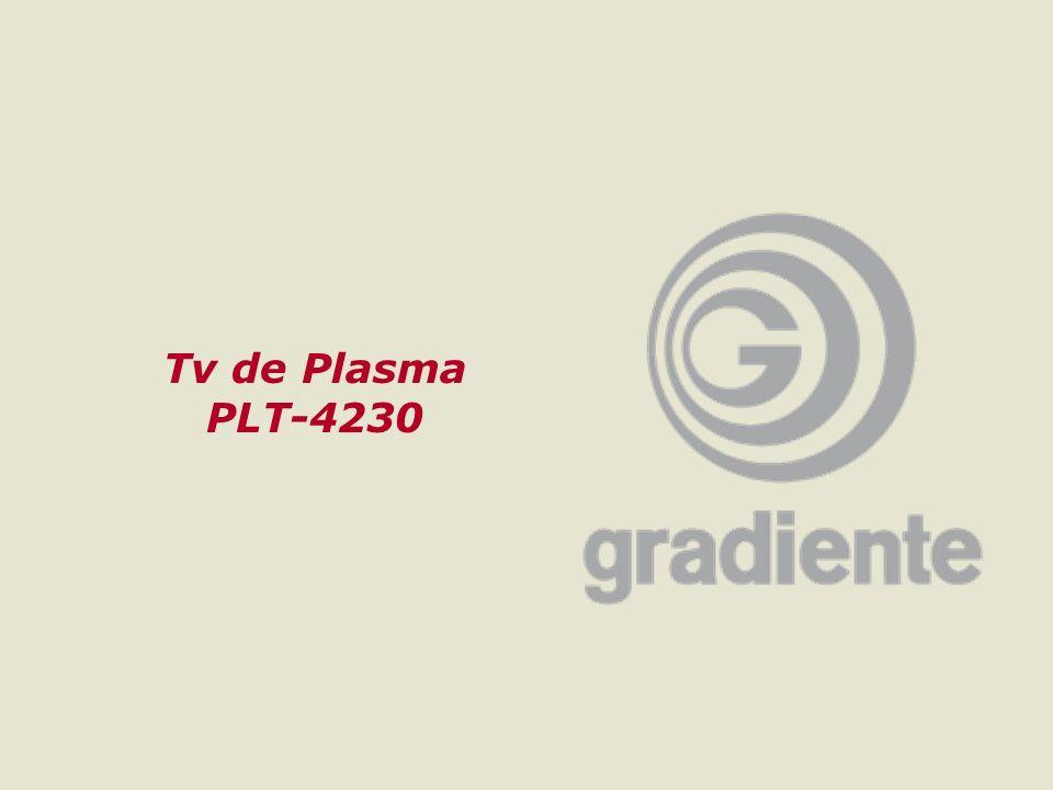 1GRADIENTE MULTIMÍDIA Tv de Plasma PLT-4230