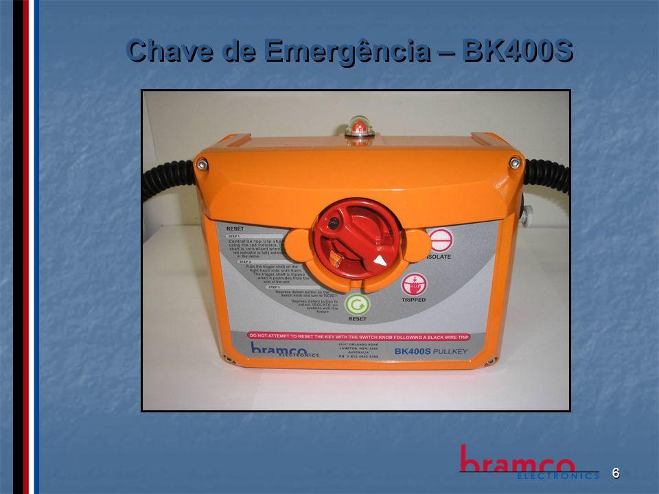 6 Chave de Emergência – BK400S