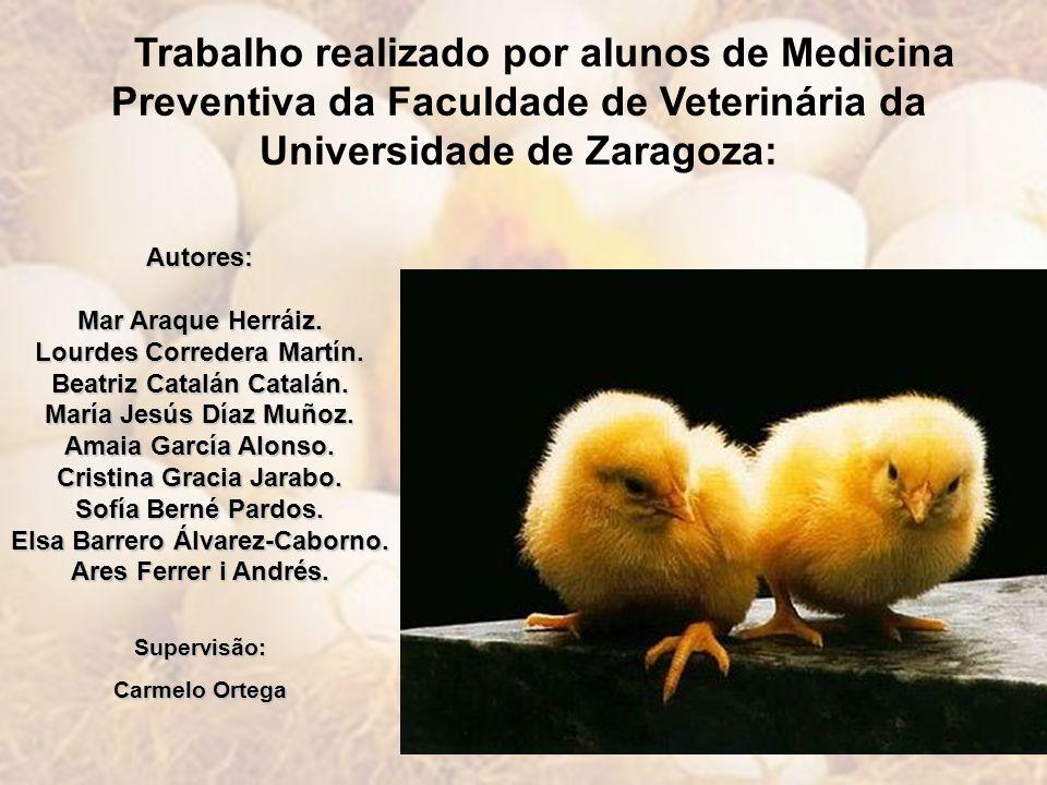Trabalho realizado por alunos de Medicina Preventiva da Faculdade de Veterinária da Universidade de Zaragoza: Autores: Mar Araque Herráiz. Lourdes Cor