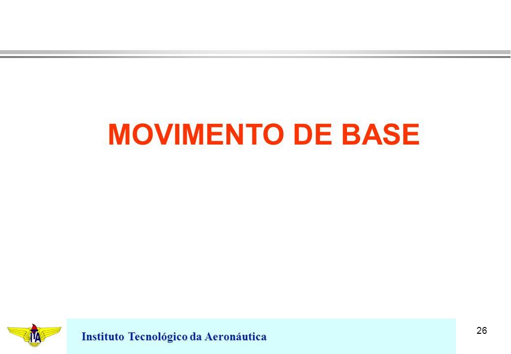 Instituto Tecnológico da Aeronáutica 26 MOVIMENTO DE BASE