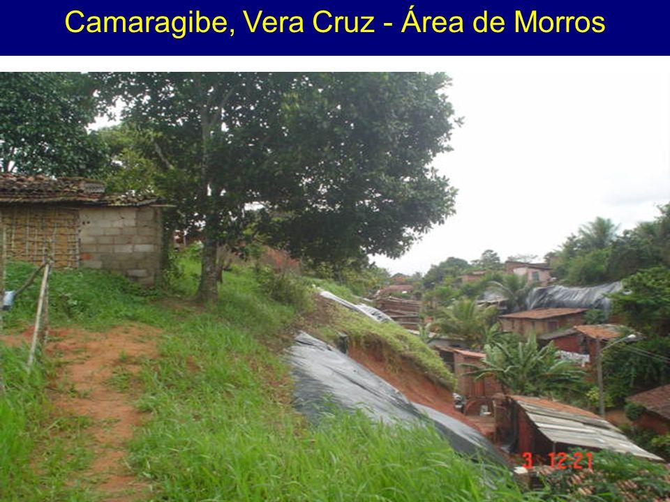 Camaragibe, Vera Cruz - Área de Morros