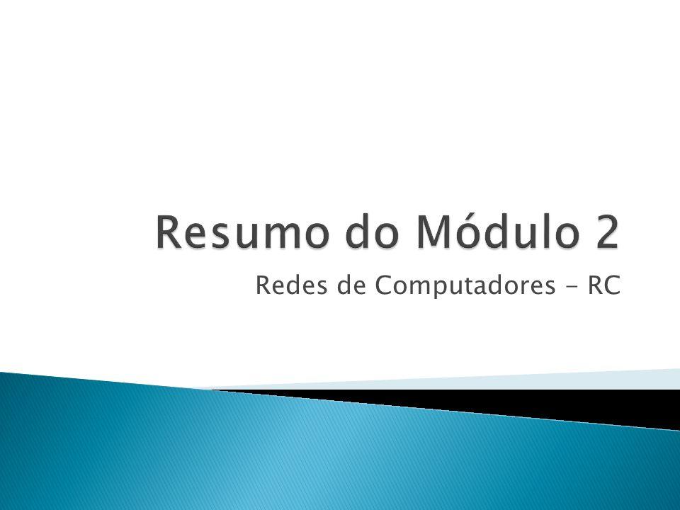 Redes de Computadores - RC