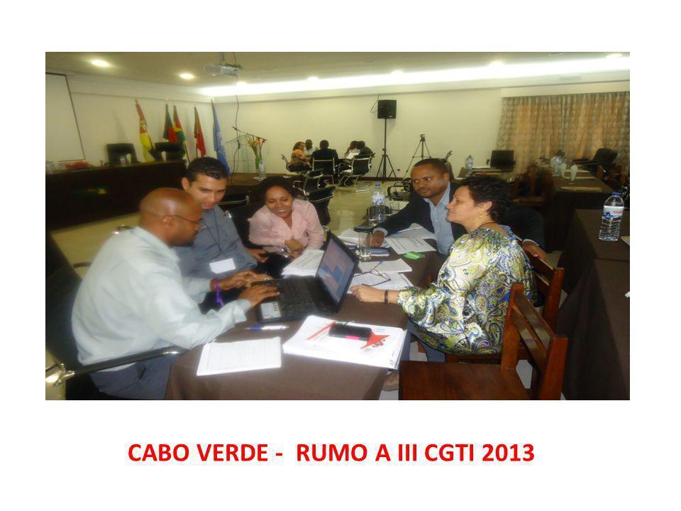 CABO VERDE - RUMO A III CGTI 2013