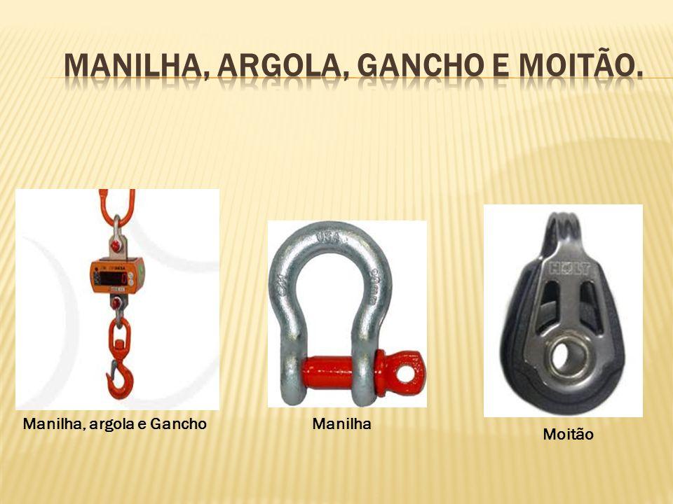 Manilha, argola e GanchoManilha Moitão