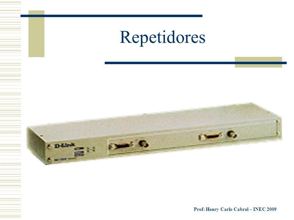 Prof: Henry Carlo Cabral – INEC 2009 Repetidores