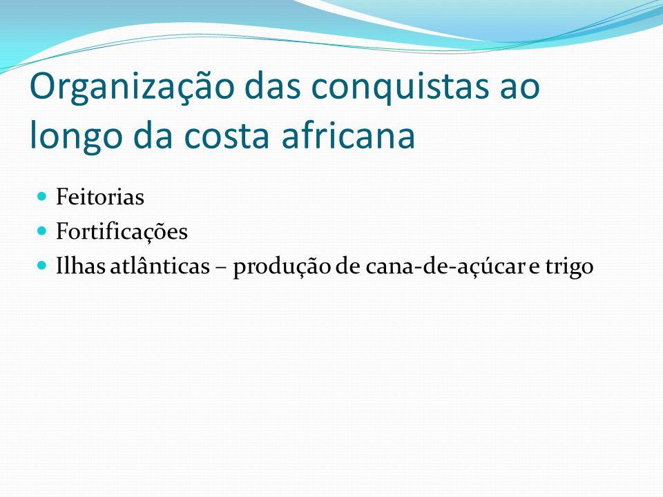 Consequências Portugal passa a se autofinanciar Objetivo de atingir as terras das Índias