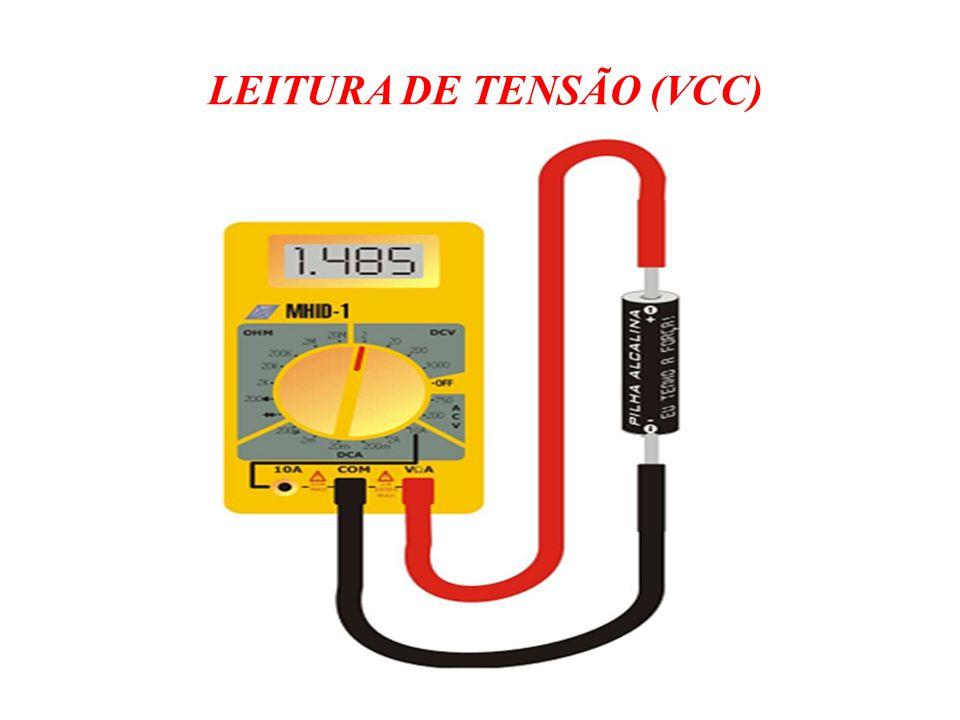 LEITURA DE TENSÃO (VCC)