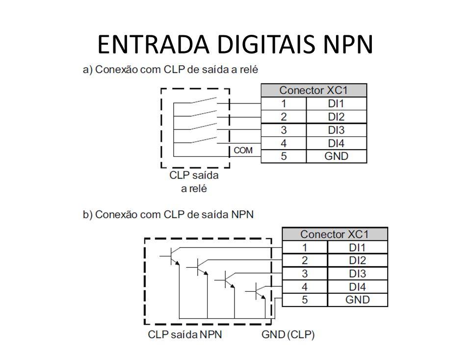 ENTRADA DIGITAIS NPN