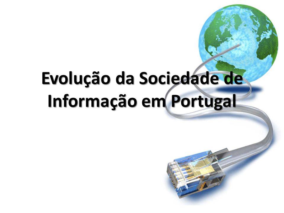 Evolução da Sociedade de Informação em Portugal