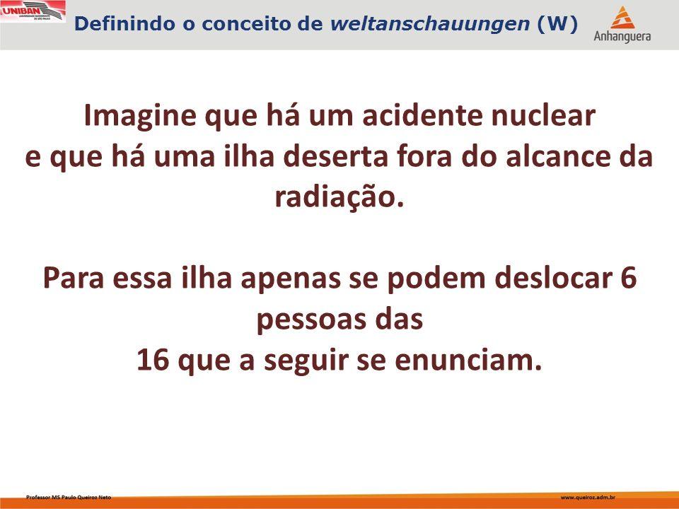 Capa da Obra Imagine que há um acidente nuclear e que há uma ilha deserta fora do alcance da radiação.