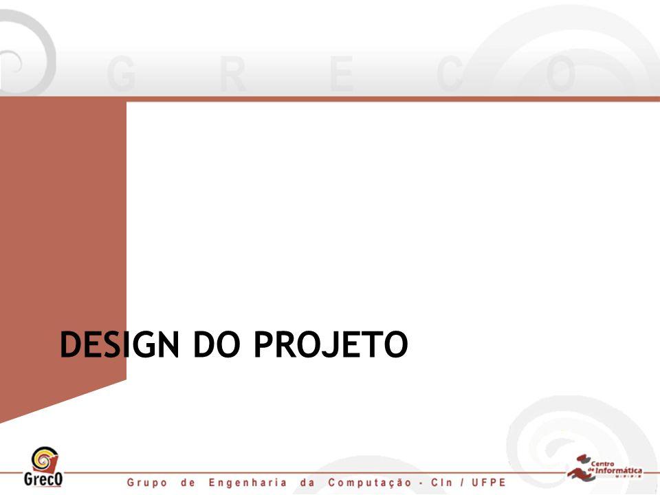 DESIGN DO PROJETO