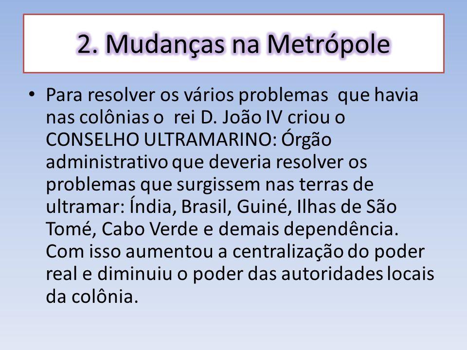Com a intenção de resolver a crise, Portugal assinou o TRATADO DE METHUEN com a Inglaterra.