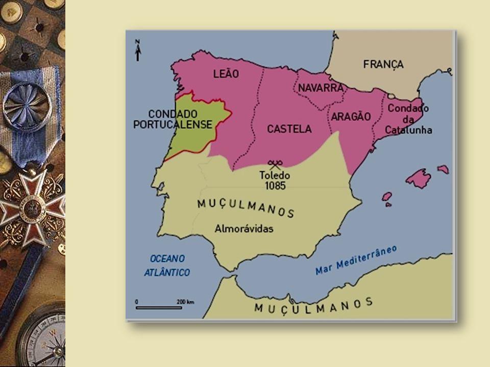 Na Península Ibérica havia populações cristãs que se opunham à presença dos Muçulmanos. O rei de Leão e Castela, D. Afonso VI, auxiliado por cavaleiro