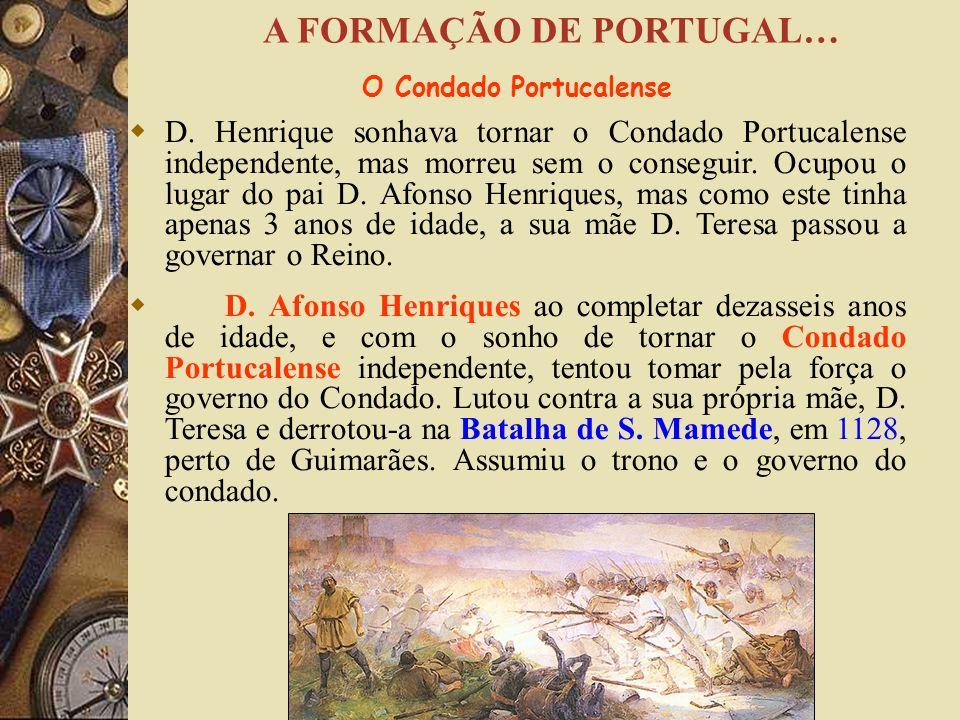 Entre os cavaleiros que lutaram ao lado de D. Afonso VI, houve um que se destacou nas batalhas, D. Henrique de Borgonha. Para o compensar pela ajuda p