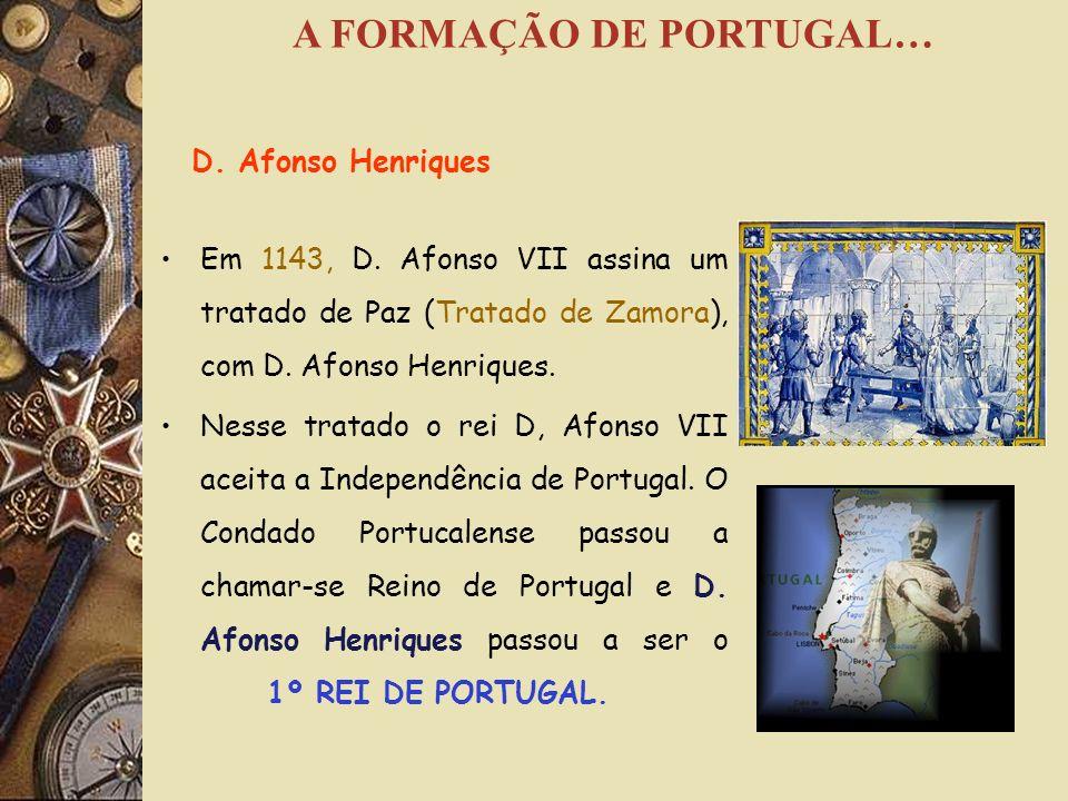 A PRIMEIRA CAPITAL DE PORTUGAL Logo que D. Afonso Henriques tomou conta do poder, escolheu para capital do novo reino a cidade de Guimarães e na qual