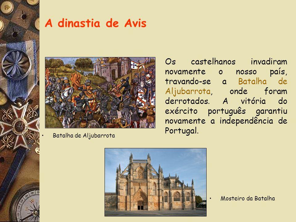 Em 1383, quando D. Fernando morreu, Portugal corria o risco de perder a sua independência, pois a sua única filha D. Beatriz tinha casado com o rei de