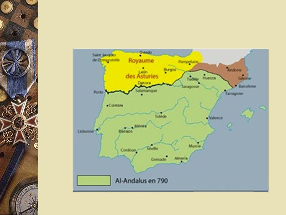 No ano de 711, a Península Ibérica foi invadida pelos Muçulmanos. Estes falavam a língua árabe e tinham uma cultura avançada. Os Muçulmanos Desenvolve