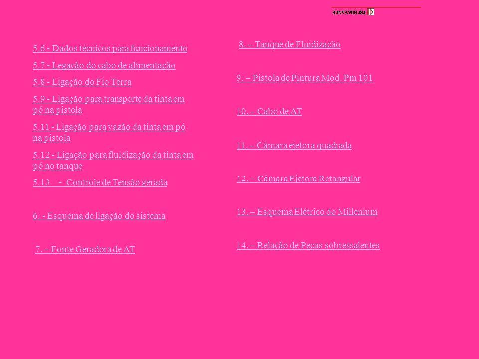 17. – CAMARA EJETORA RETANGULAR LISTA DE PEÇAS 19 8 1