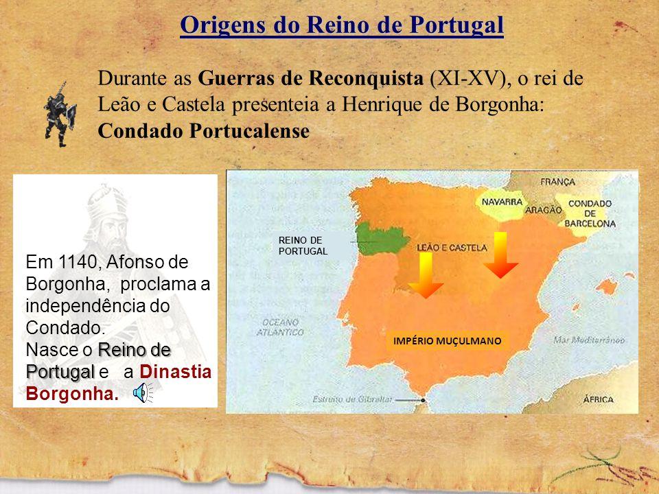 A FORMAÇÃO DE PORTUGAL e sua EXPANSÃO MARÍTIMA