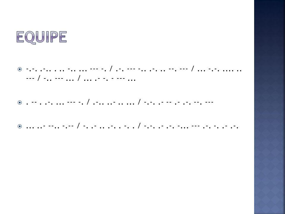 Em 1997 a marinha francesa deixou de usar o Código Morse Chamando todos.