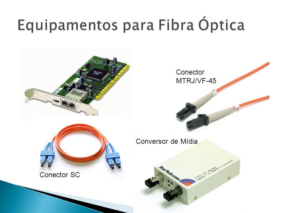 Conector SC Conector MTRJ/VF-45 Conversor de Mídia