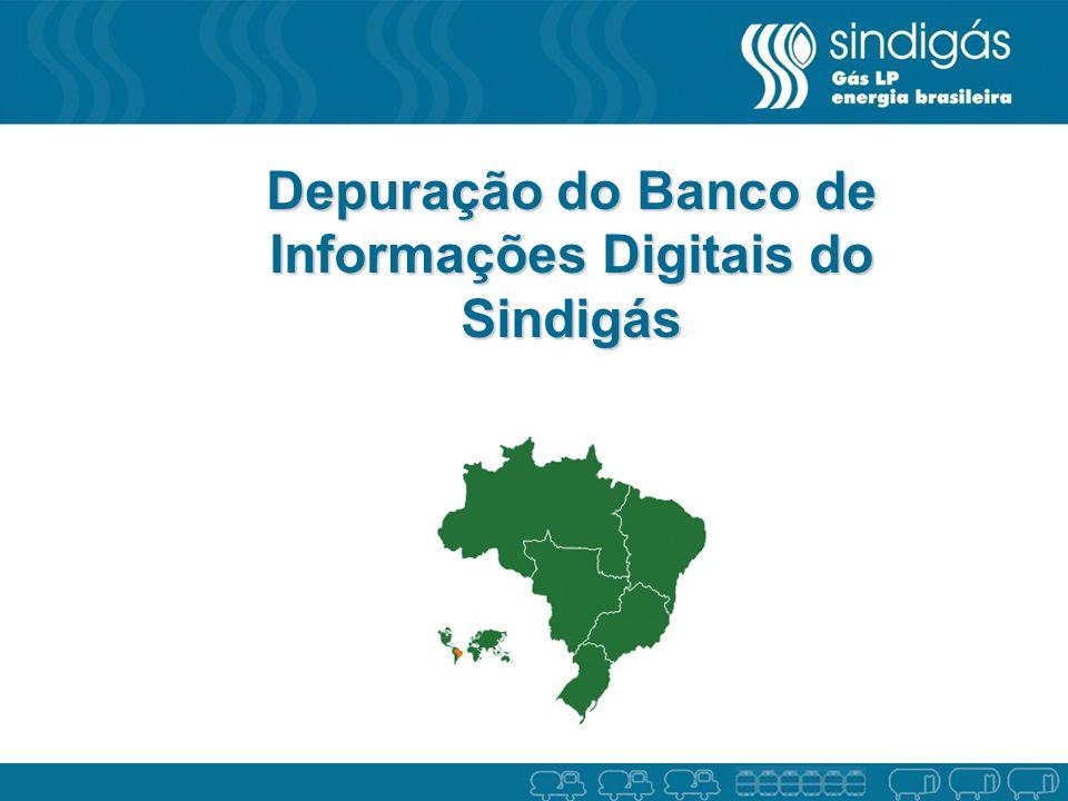 Depuração do Banco de Informações Digitais do Sindigás