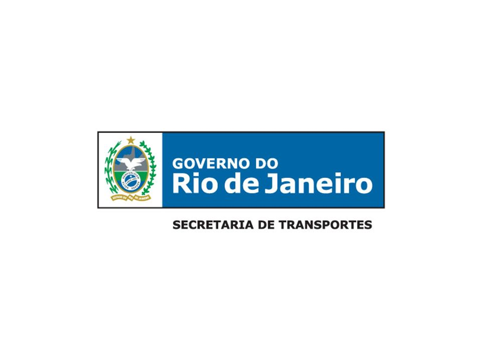 SECRETARIA DE TRANSPORTES PDTU 2013 Revisão do Plano Diretor de Transportes Urbanos da Região Metropolitana do Rio de Janeiro Região Metropolitana 20 municípios 12 milhões de habitantes VISÃO ESTRATÉGICA DOS TRANSPORTES