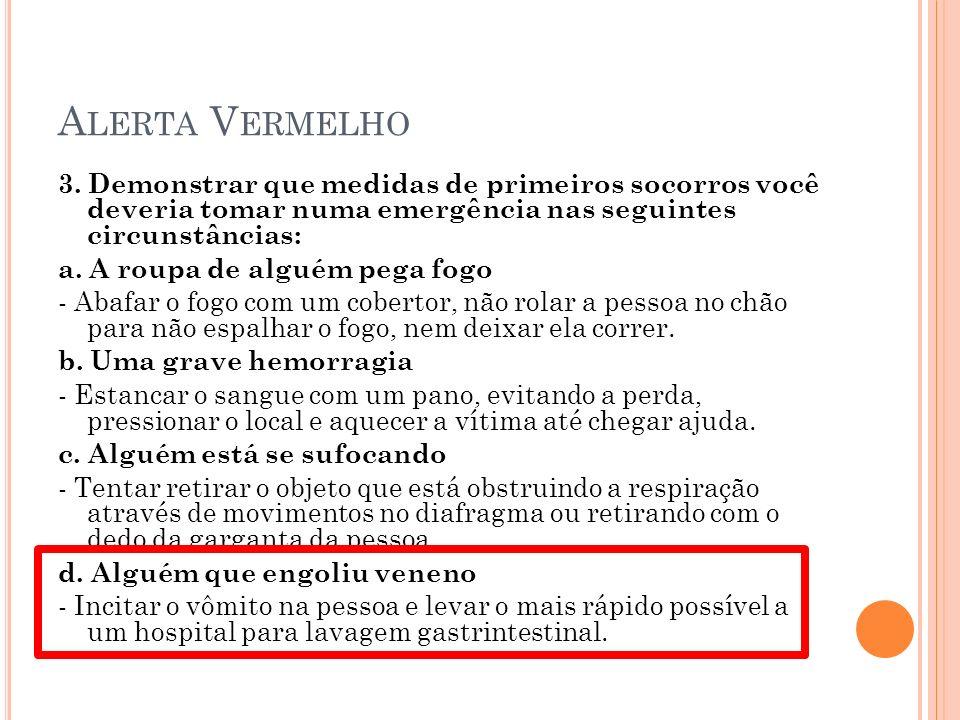 A LERTA V ERMELHO 3.