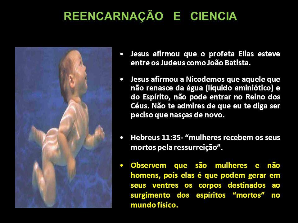 Jesus afirmou que o profeta Elias esteve entre os Judeus como João Batista.