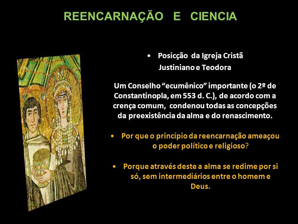 Posicção da Igreja Cristã Justiniano e Teodora Um Conselho ecumênico importante (o 2º de Constantinopla, em 553 d.
