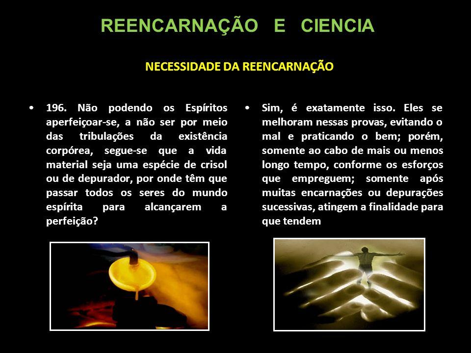 NECESSIDADE DA REENCARNAÇÃO 196.