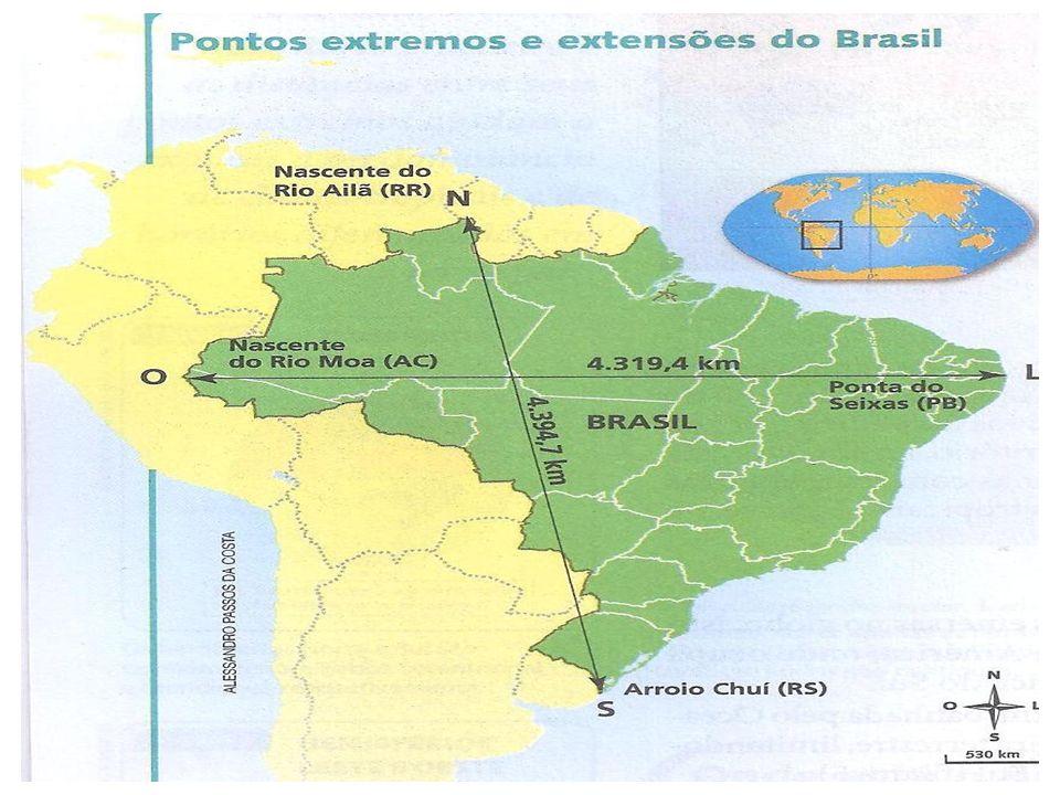 Divisão do Milton Santos Proposta pelo geógrafo Milton Santos em 2001.