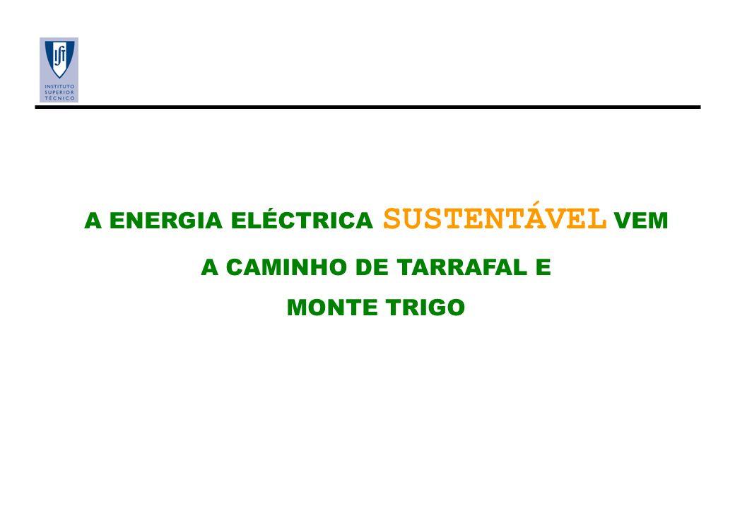 A ENERGIA ELÉCTRICA SUSTENTÁVEL VEM A CAMINHO DE TARRAFAL E MONTE TRIGO