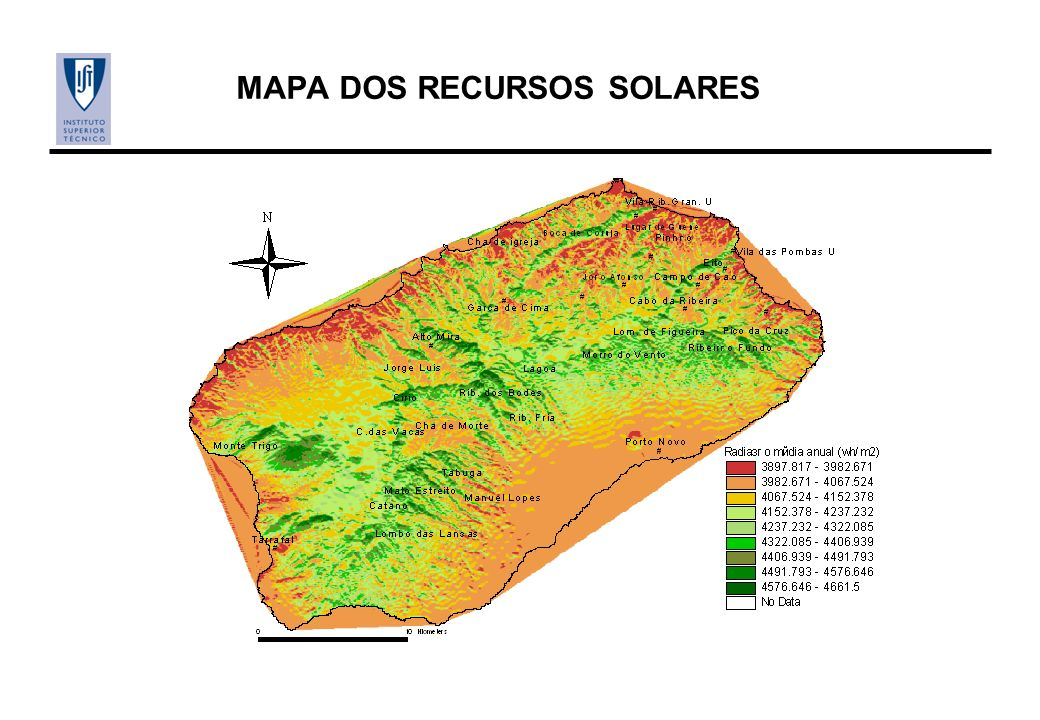 MAPA DOS RECURSOS SOLARES