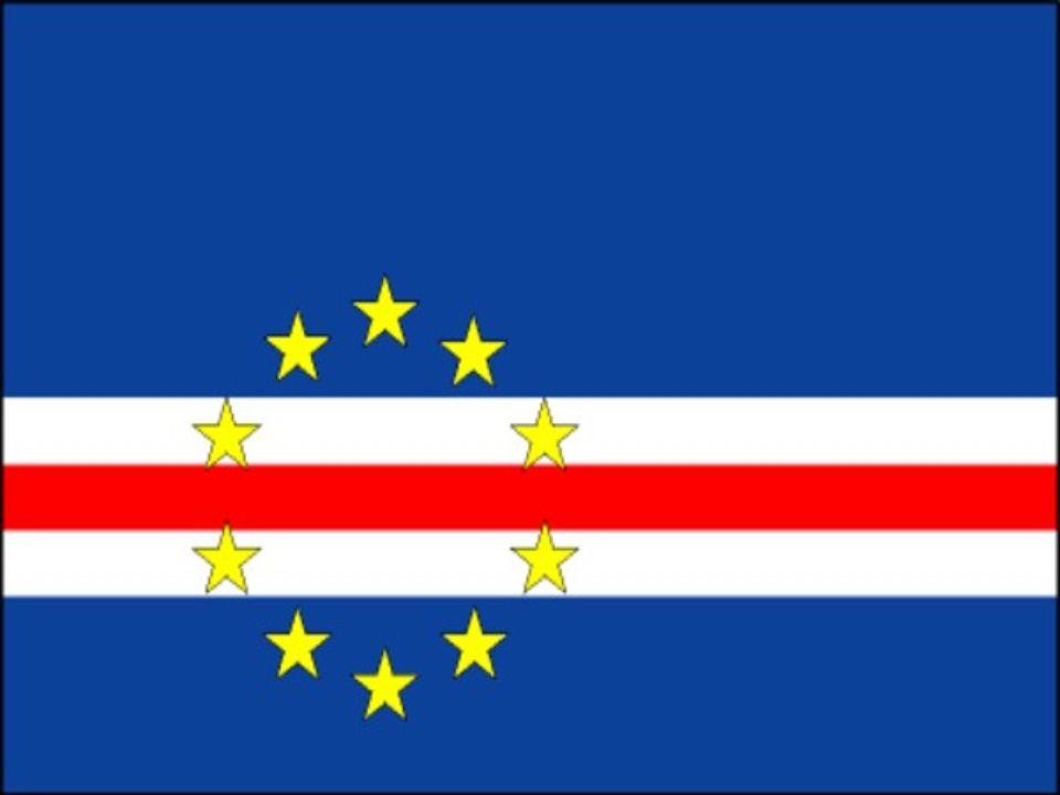 Simbolismo da Bandeira: - O rectângulo azul da bandeira simboliza o mar e o céu que envolvem as ilhas.