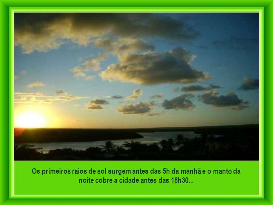 Da Patagônia ao Canadá nenhum outro ponto continental está mais próximo da África que a Ponta do Seixas... É o marco mais oriental das Américas...
