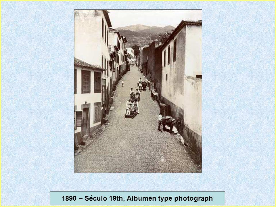 1890 – Século 19th, Albumen type photograph