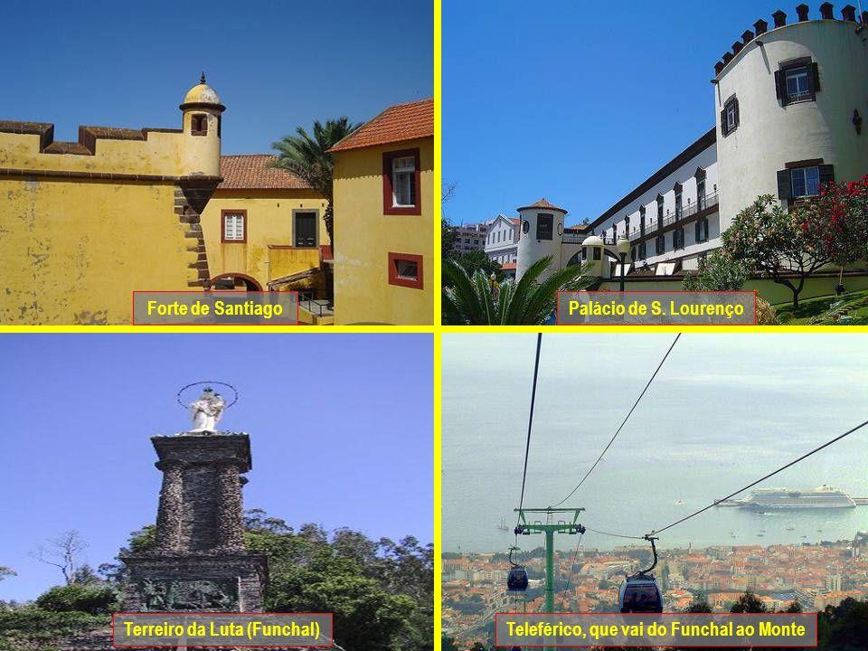 Sé Catedral do FunchalIgreja de S. João Igreja de S. PedroIgreja de Sto. António